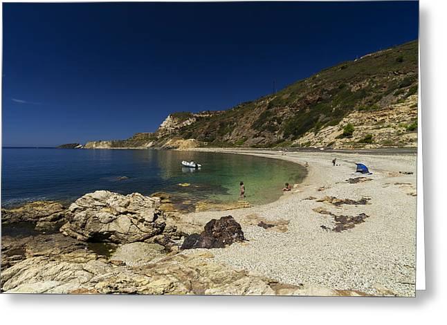 Elba Island - Solitary Beach - Spiaggia Solitaria - Ph Enrico Pelos Greeting Card