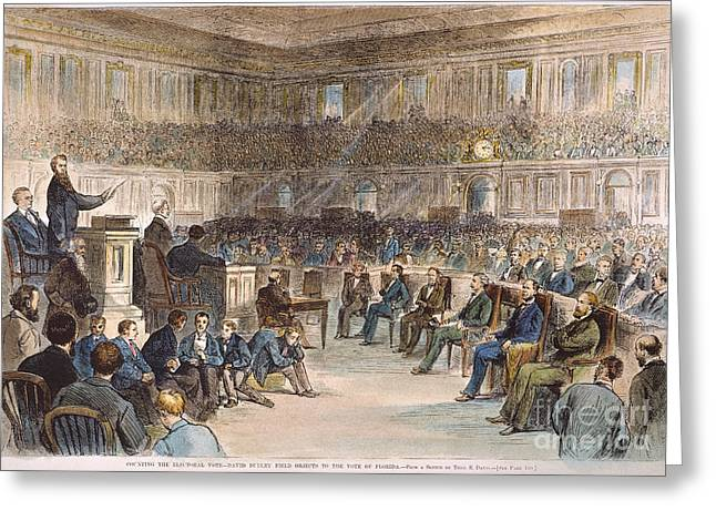 Electoral Commission, 1877 Greeting Card by Granger