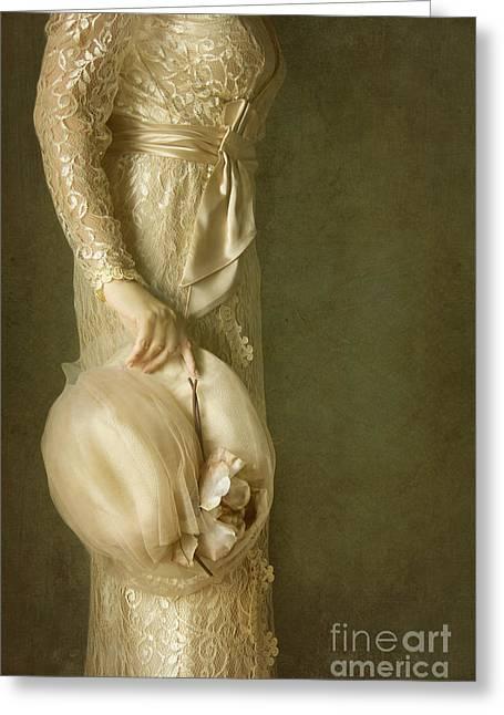 Elegance Greeting Card by Margie Hurwich