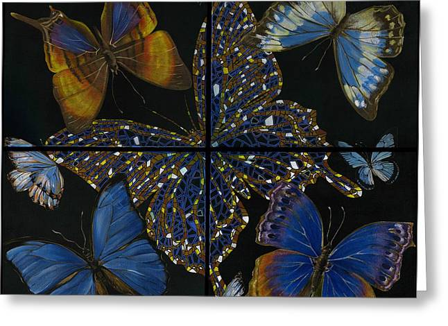 Elena Yakubovich Butterfly 2x2 Greeting Card