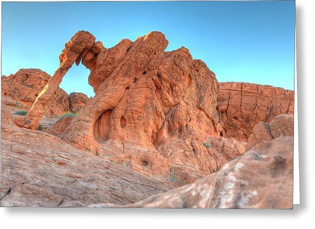 Elephant Rock Greeting Card