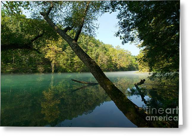 Eleven Point River Greeting Card by Chris Brewington Photography LLC