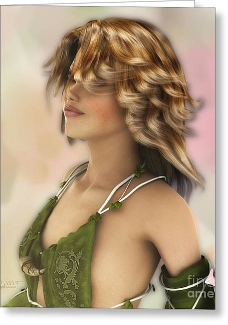 Elf Dreams Greeting Card