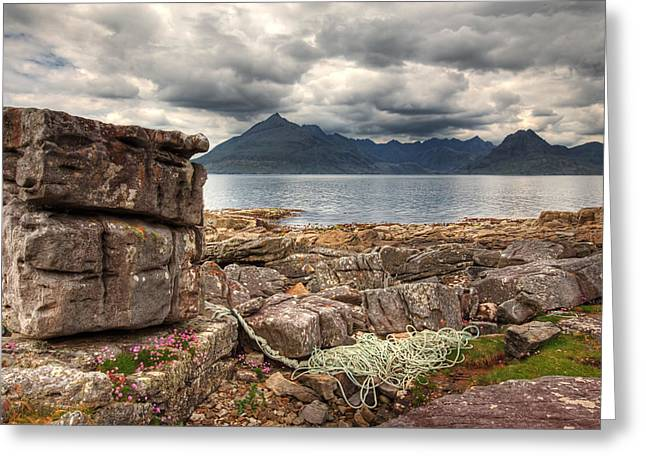 Elgol Coastline Greeting Card