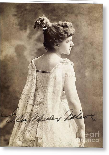 Ella Wheeler Wilcox Greeting Card by Granger