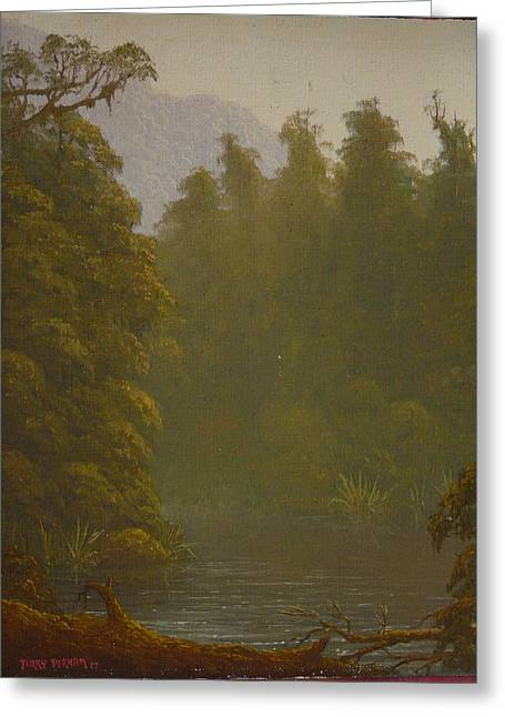 Ellery River 1977 Greeting Card by Terry Perham