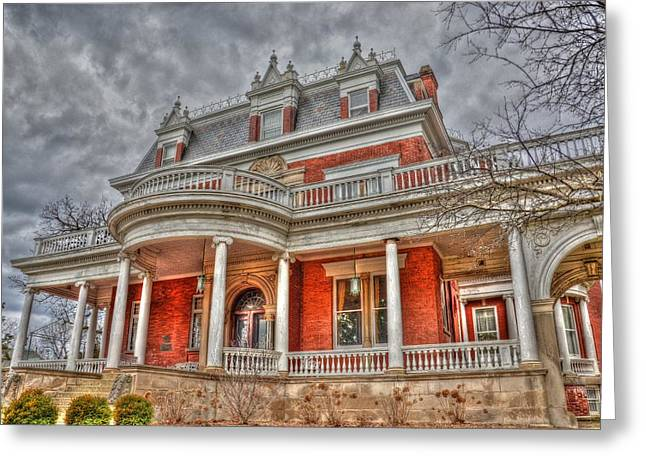 Ellwood Mansion Greeting Card by Dan Crosby