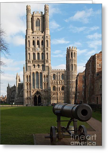 Greeting Card featuring the photograph Ely by Andrew  Michael