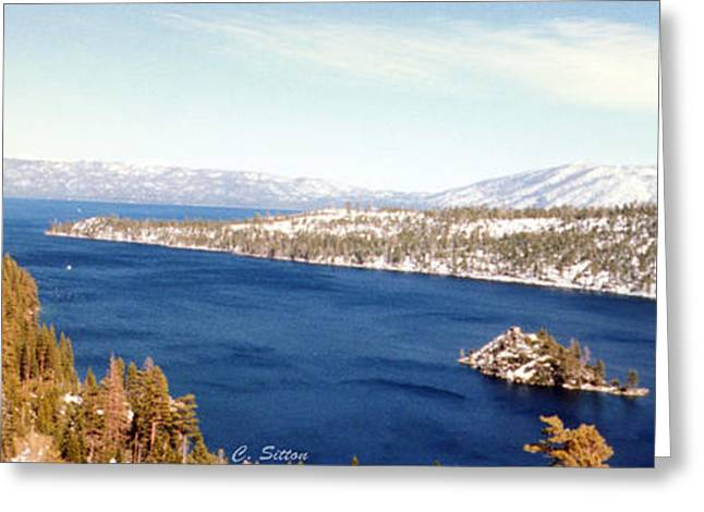 Emerald Bay 2 Greeting Card