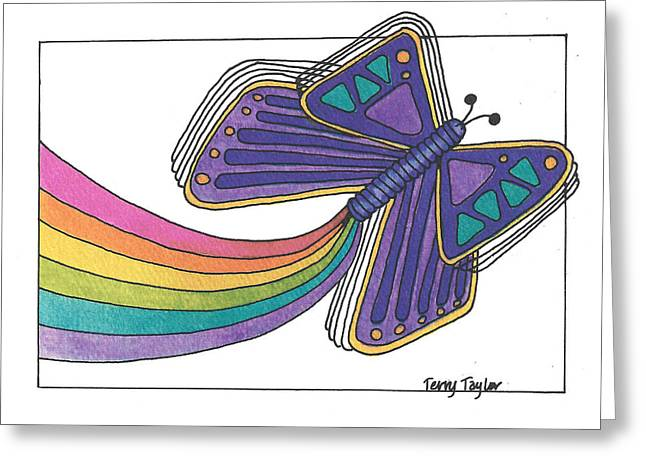 Emergence Greeting Card by Terry Taylor