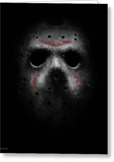 Emerging From Darkness Greeting Card by Ronald Barba