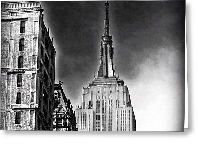 #empire #newyorker #ny #architecture Greeting Card