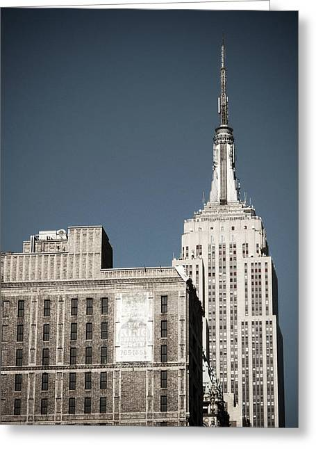 Empire State 2 Greeting Card by Darren Martin