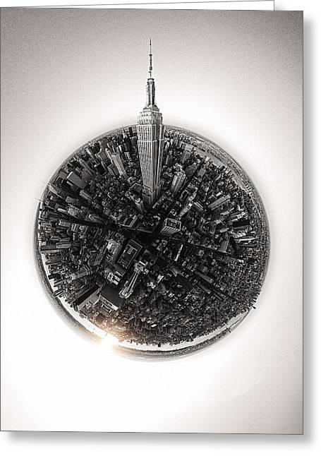 Empire State #3 Greeting Card