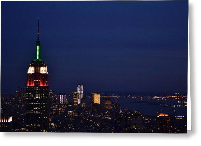 Empire State Building3 Greeting Card