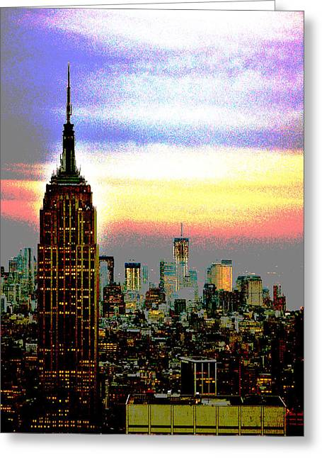 Empire State Building4 Greeting Card