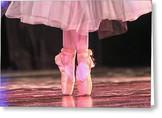 En Pointe 2 Greeting Card
