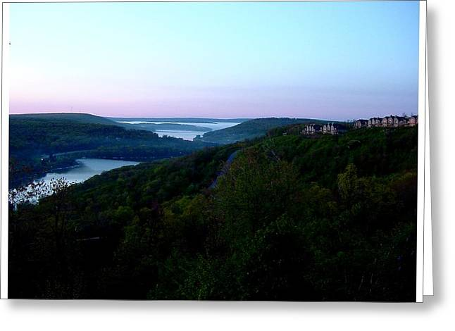 End Of A Perfect Day At Deep Creek Greeting Card by Frank Wickham