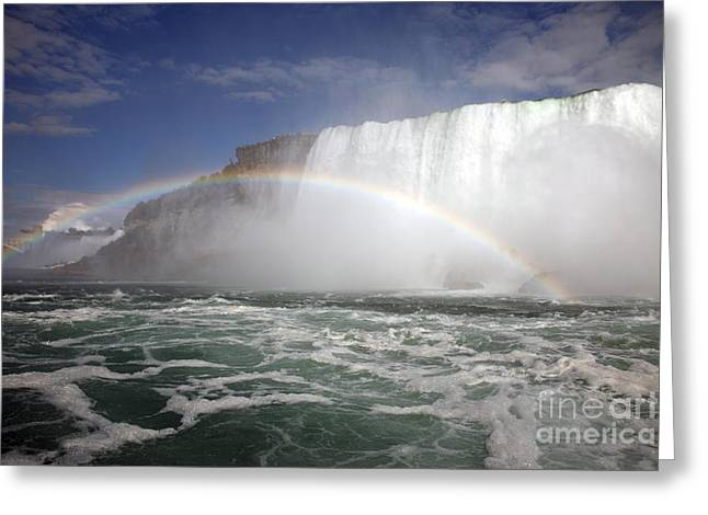 End Of The Rainbow Greeting Card by Amanda Barcon