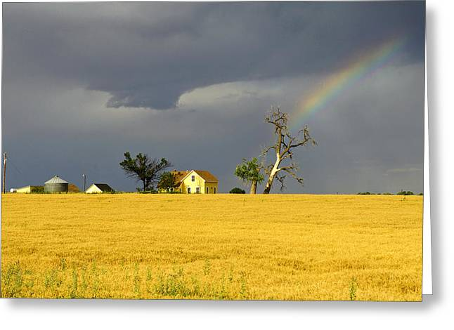 End Of The Rainbow Greeting Card by James Steele