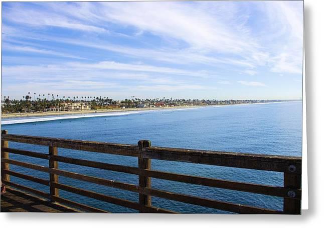 Endless Beach Greeting Card by John  Greaves