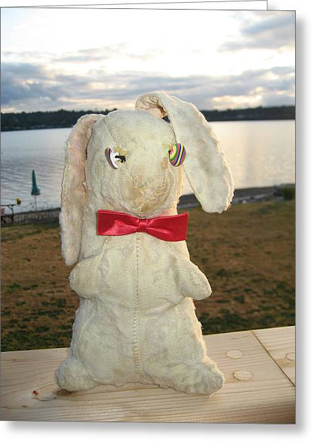 Energizer Bunny No More Greeting Card by Kym Backland