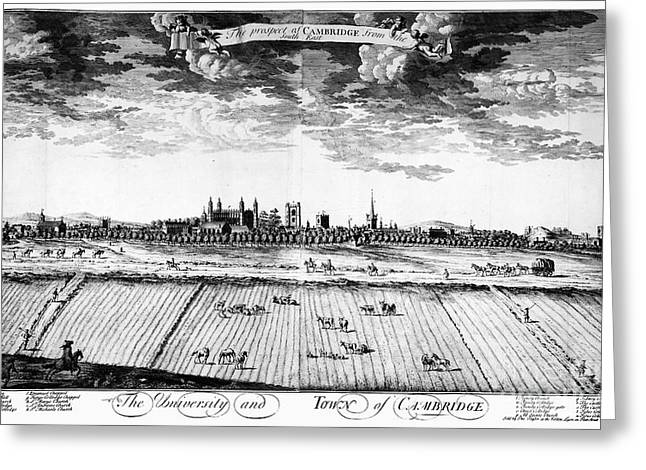 England: Cambridge, C1763 Greeting Card
