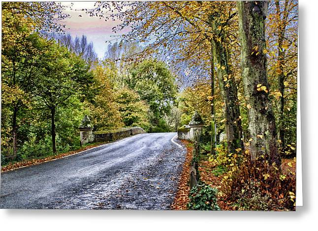 England Country Side Greeting Card by Neil Campbell