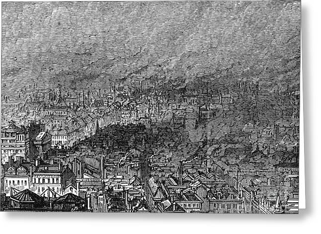 England: Manchester, 1876 Greeting Card by Granger