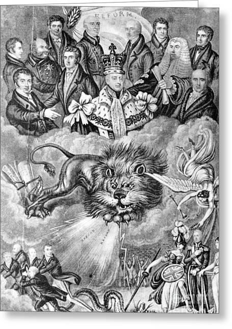 England: Reform, 1830 Greeting Card