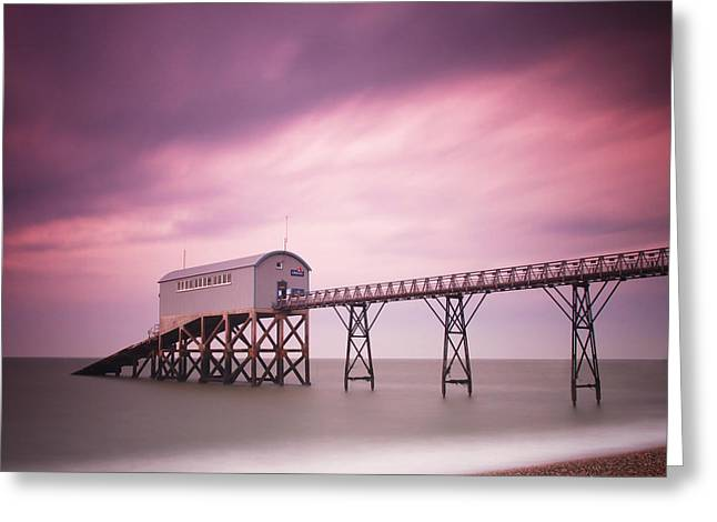 England Selsey Greeting Card by Nina Papiorek