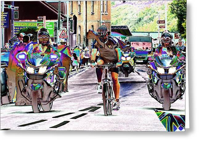 Entourage 2 Greeting Card by Sharon Lisa Clarke