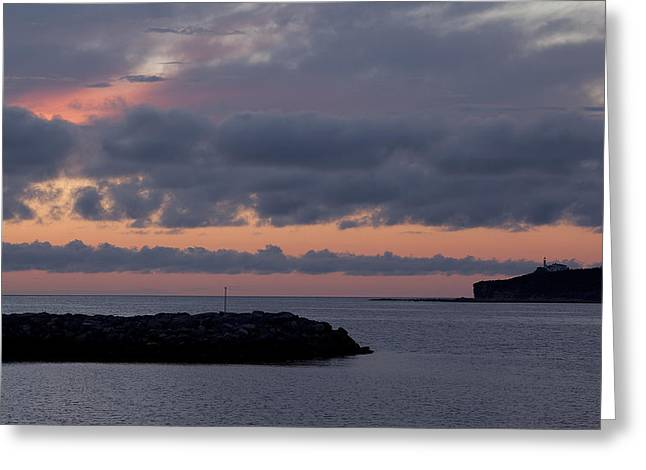 Entrance To Rocky Harbour Greeting Card