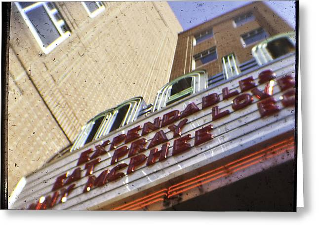 Ephrata Main Theatre Greeting Card by Christopher Kulfan