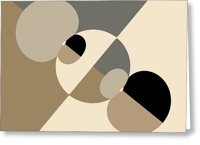 Equilibrium Greeting Card by Mark Greenberg