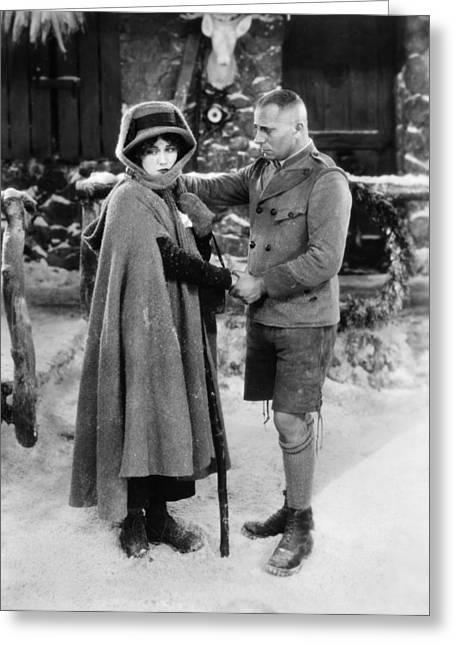 Erich Von Stroheim Greeting Card by Granger