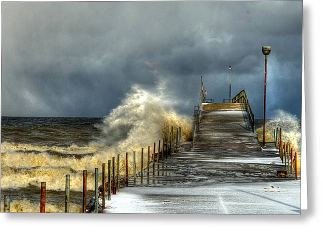 Erie Storm Greeting Card