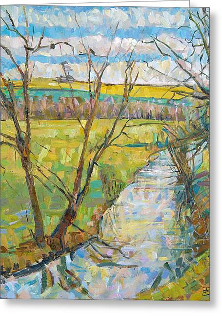 Erin Townsend  Greeting Card by The Cherwell from Rousham II