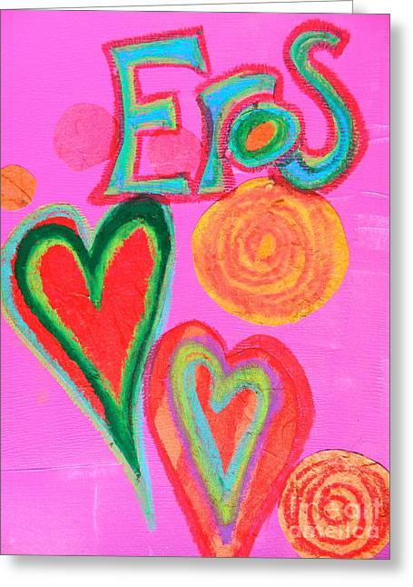 Eros Greeting Card