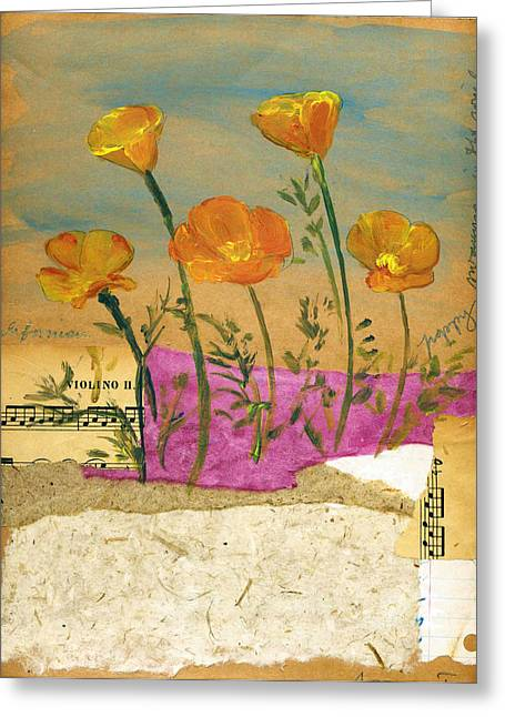 Eschscholzia Greeting Card