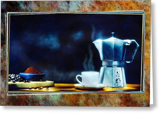 Espresso  Greeting Card by Mauro Celotti