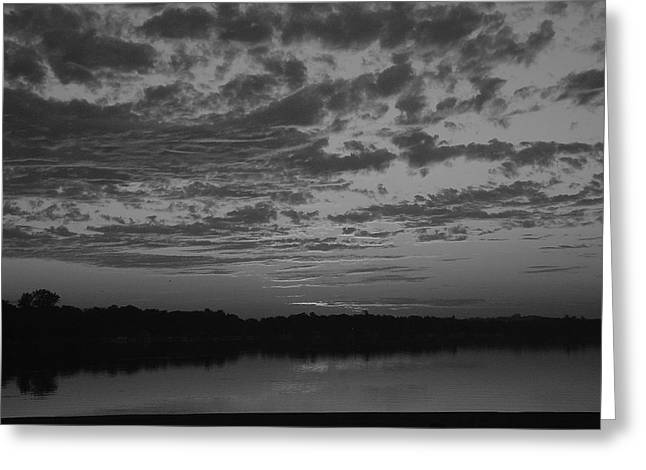 Essence Of A Sunrise Greeting Card by Dennis Leatherman