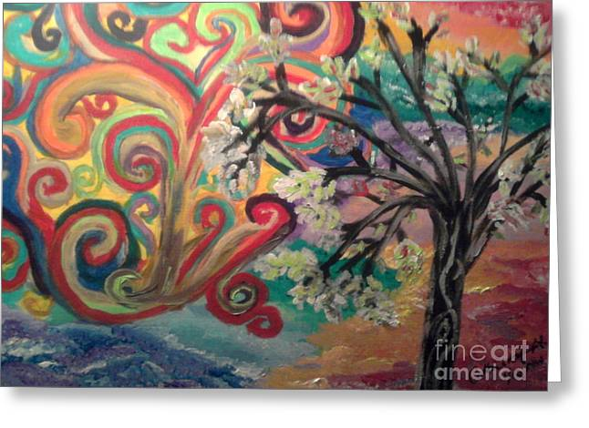 Essence Of Spring. Greeting Card by Catherine Herbert
