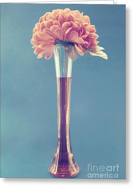 Estillo Vase - S01v3f Greeting Card by Variance Collections