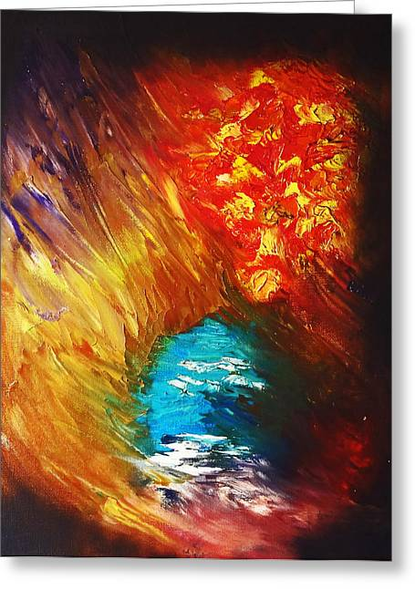 Eternity Greeting Card by Terry Horowitz