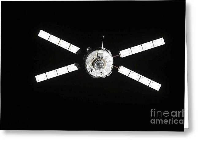 European Space Agencys Jules Verne Greeting Card