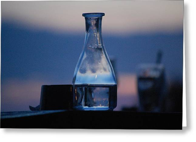 Evening Drinks II Greeting Card by Dickon Thompson
