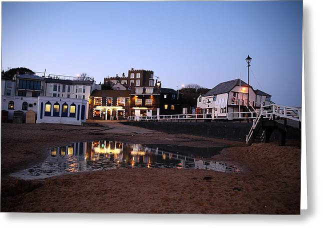 Evening In Broadstairs Greeting Card by Jez C Self