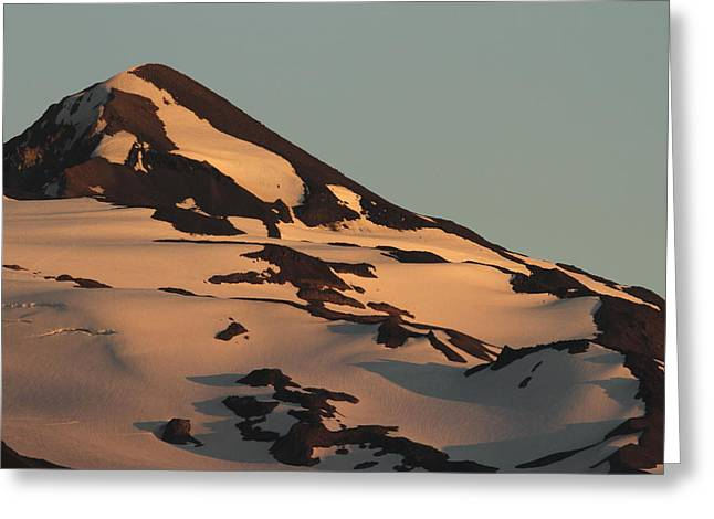 Evening Into Night Greeting Card by Laddie Halupa