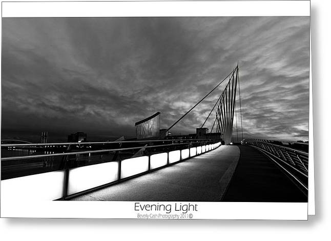 Greeting Card featuring the photograph Evening Light by Beverly Cash